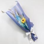 手工花向日葵乾燥花束  FSFDALD02