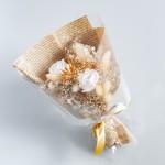 透明系包裝乾燥花束  FSFDAMD04