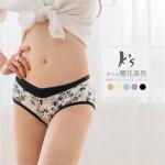 日本櫻花風蠶絲內褲 (專利蠶絲褲底/5色)