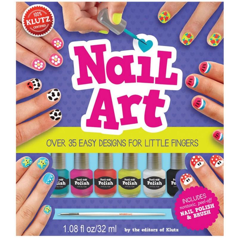 【美國Klutz】Nail Art 幼兒指甲彩繪組
