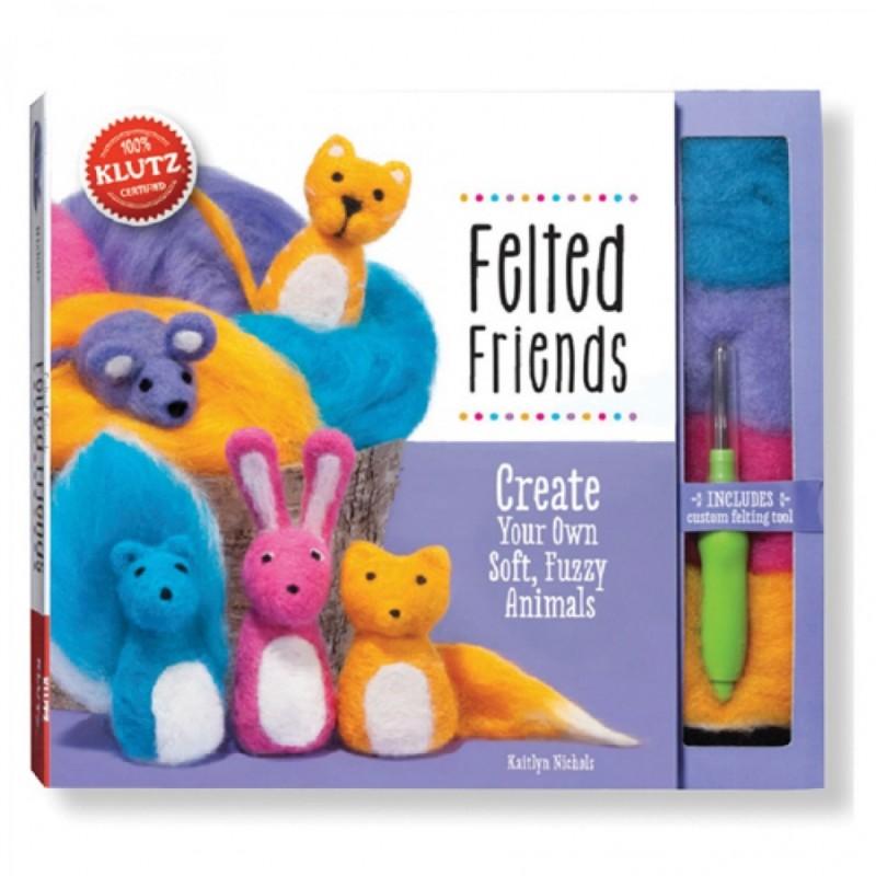 【美國Klutz】Felted Friends 戳戳紓壓羊毛氈