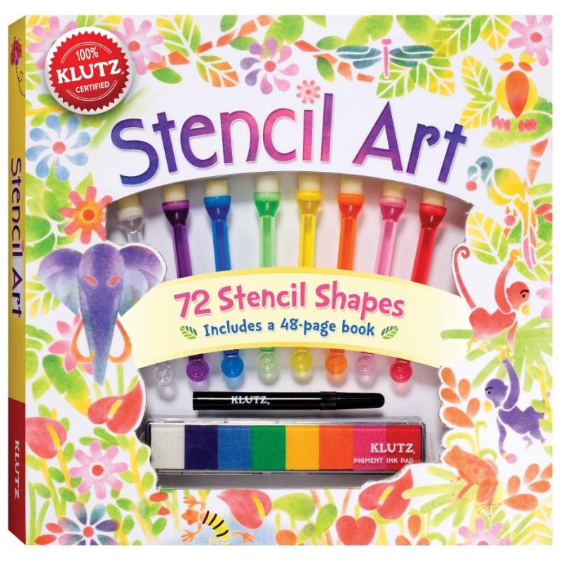 【美國Klutz】Stencil Art 海綿點點畫
