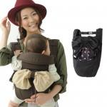 【NG商品】嬰兒背巾 西村媽媽 日本LUCKY  4WAY Pouch Carry 時尚造型背帶