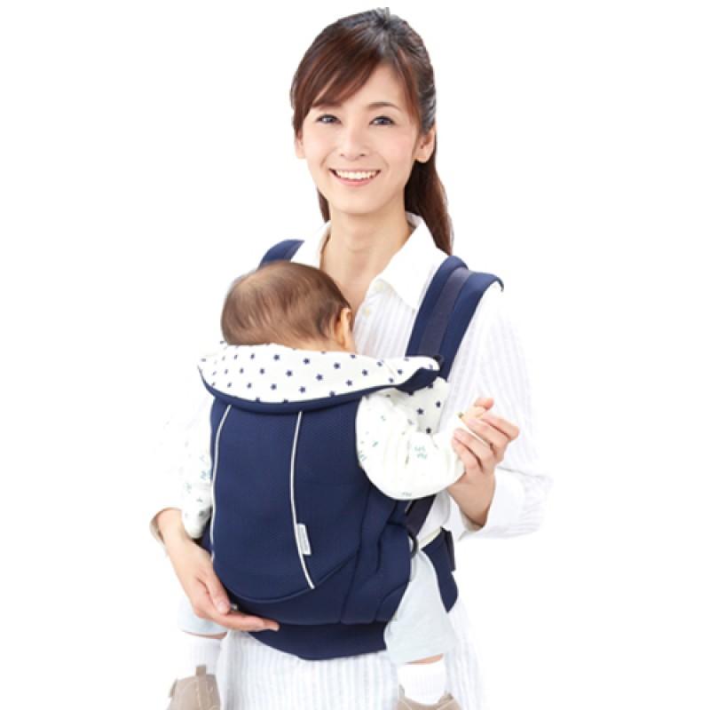 嬰兒背巾 西村媽媽 日本LUCKY  Side Plus腰帶型背帶〔All Mesh版〕