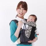 嬰兒背巾 西村媽媽 日本LUCKY  Side Plus腰帶型背帶〔限定版〕