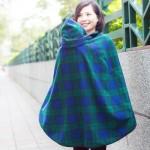 保暖披風/哺乳巾 西村媽媽 日本LUCKY  多功能媽媽活用披風