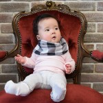 日本LUCKY 造型時尚圍巾/圍兜 (雙用)