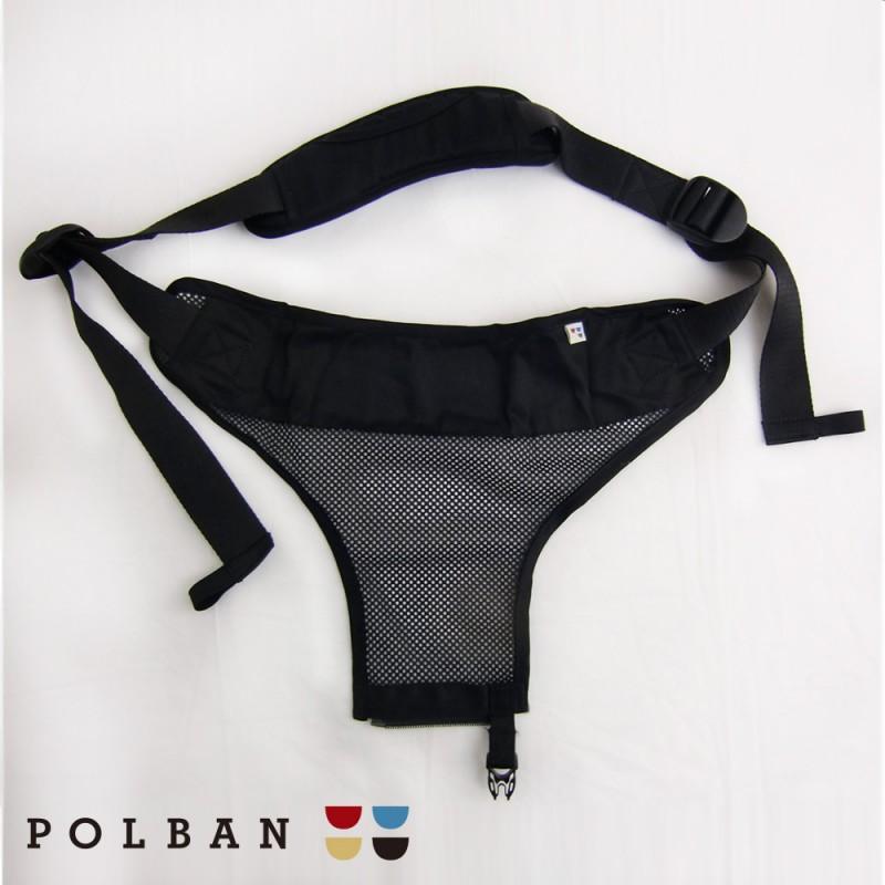 日本LUCKY  POLBAN腰凳型背帶〔單肩繩〕