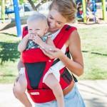 嬰兒背帶 西村媽媽 日本LUCKY POLBAN腰凳背帶 + 360環繞式口水墊 組合