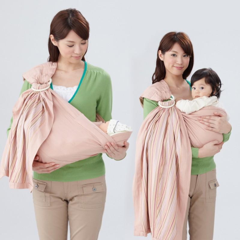 嬰兒背巾 西村媽媽 日本LUCKY Buddy Buddy 親密育兒網狀背巾