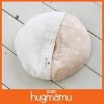 hugmamu 二層有機棉甜甜圈型嬰兒枕