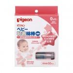 貝親 PIGEON 黏性棉棒 日本製 100%純棉 / 適用年齡:0個月起
