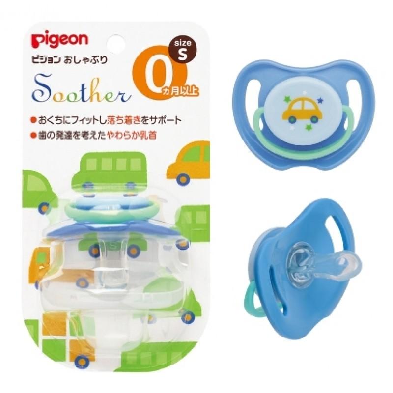 貝親 PIGEON 安撫奶嘴-汽車(S) /3尺寸 / S、M、L