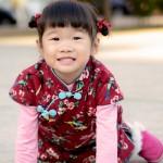 兒童古風旗袍  冬季款〔鳥鳴嚶嚶〕