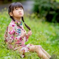 【買1送衣】兒童旗袍 古風 四季款〔紫羅鳳秋〕