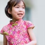 兒童古風旗袍-四季款〔日本櫻花〕
