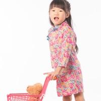 【買1送衣】兒童旗袍 古風 四季款〔玫瑰秋香〕