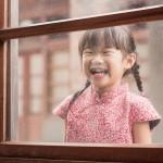 兒童古風旗袍  冬季款〔紅色喜福〕