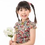 兒童旗袍 古風 四季款[花團錦簇]
