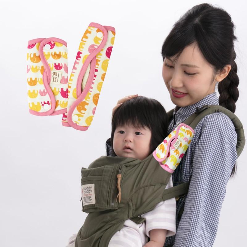 【日本研發】日本LUCKY 手裏劍交叉口水墊 (林旺象)各種寬細背帶都適用/日本製