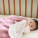 五層精燒魔力纱親親寶貝party 嬰兒被 (日本製)