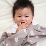 hugmamu 五層精燒魔力纱親親寶貝party系列-推車蓋毯(日本製)+贈水族館玩具1個