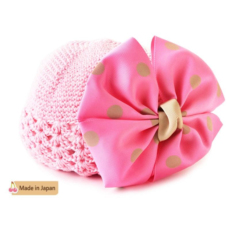 日本 BABY DECO 蝴蝶結甜心公主帽子 /2色 (日本製)
